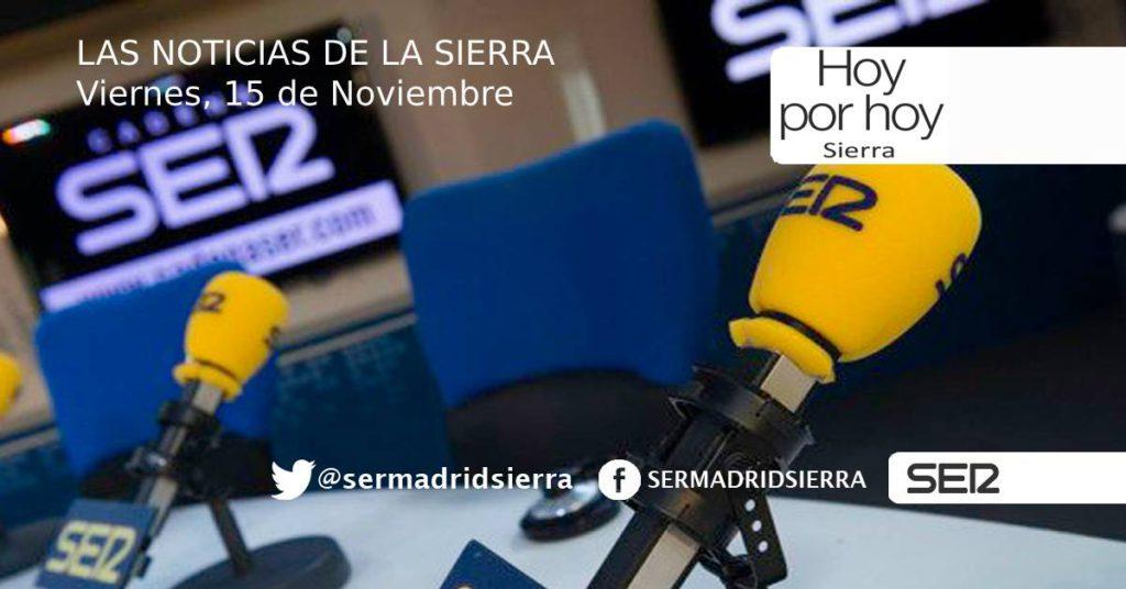 HOY POR HOY. Noticias del Viernes, 15 de Noviembre