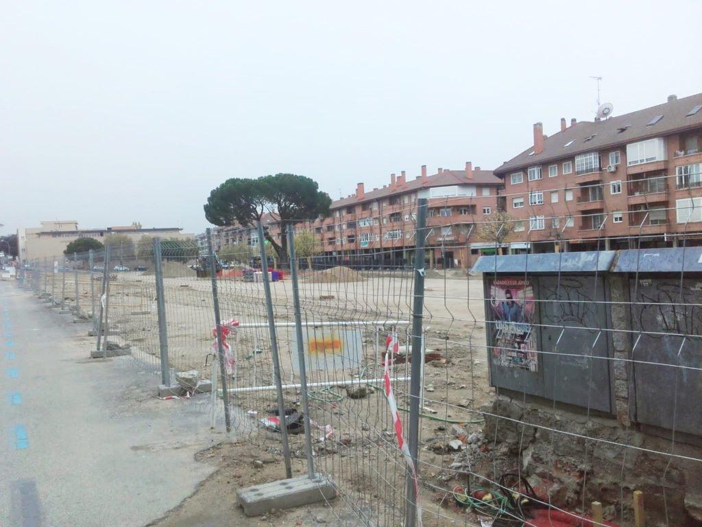 No soplan buenos tiempos para el comercio ubicado en la Plaza de Los Belgas de Collado Villalba