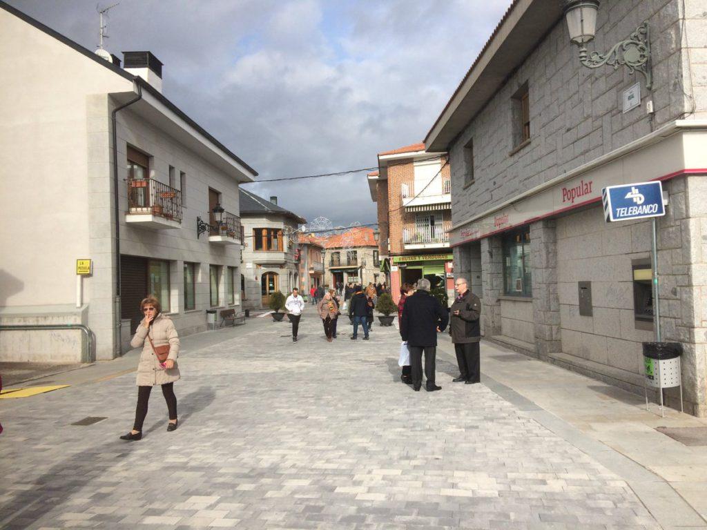 Este domingo, concentración en Alpedrete en defensa de la peatonalización de la calle Real
