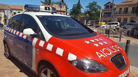 La policía local de Valdemorillo detiene a un individuo en situación de búsqueda para su ingreso en prisión