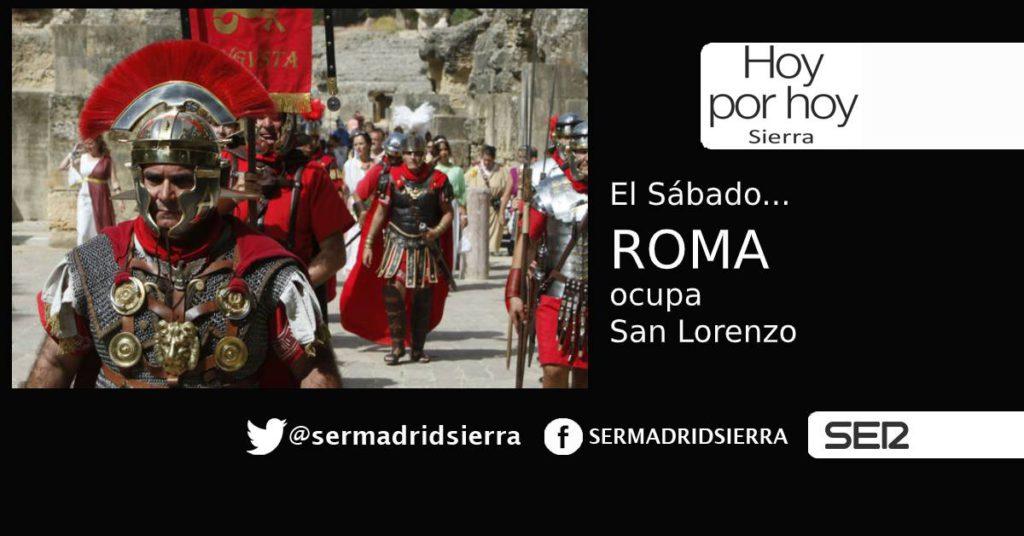 HOY POR HOY. La antigua Roma llega este sábado a San Lorenzo
