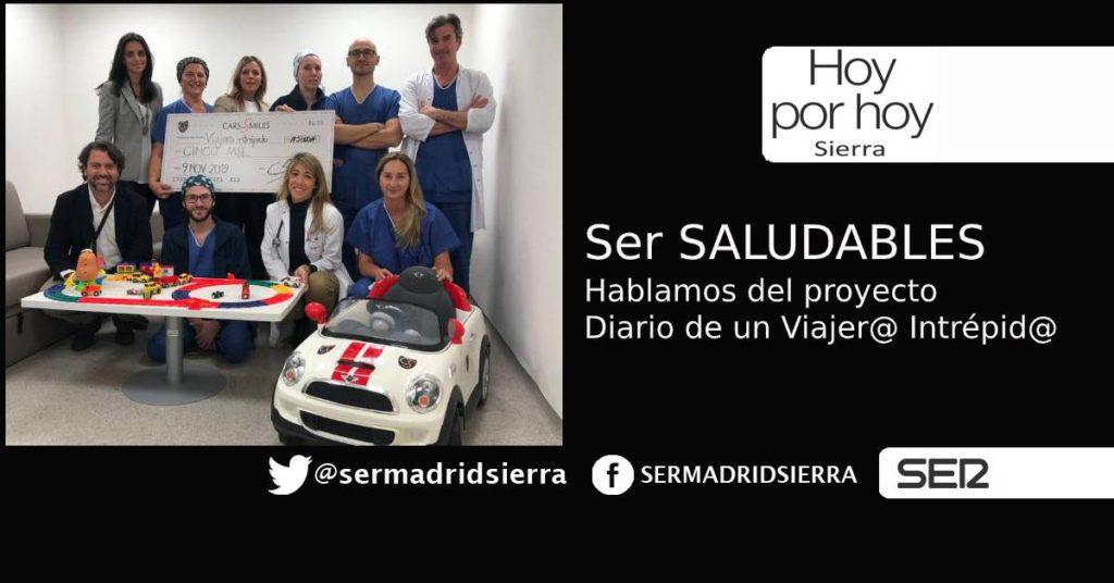 HOY POR HOY. Ser Saludables y el proyecto Diario de un Viajer@ Intrepid@