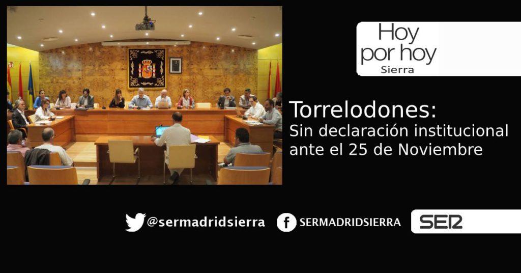 HOY POR HOY. Con Rodrigo Beltrán (PSOE Torrelodones), tras el pleno de ayer