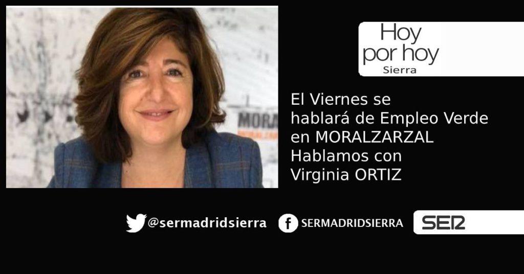 HOY POR HOY. Hablamos de Empleo Verde en Moralzarzal con Virginia Ortiz