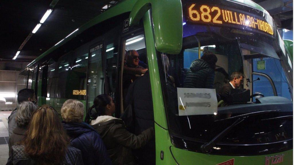 Nuevas modificaciones en los servicios para Guadarrama en las líneas 682 y la N602