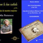 MÁS DE UNO SIERRA - Historia de nuestros mayores, la segunda edición de Mia Patterson
