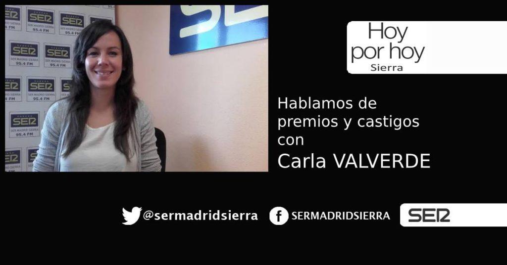 HOY POR HOY. Carla Valverde nos habla de premios y castigos