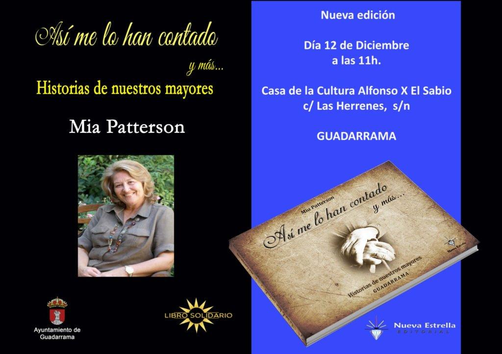 Mia Patterson presenta la edición ampliada de su libro sobre Guadarrama