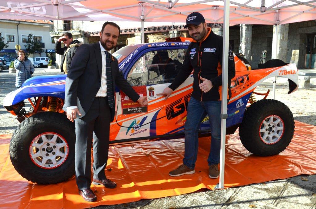 El guadarrameño Rubén Gracia presenta al equipo del «GPR SPORT» con el que afrontará el Rally Dakar