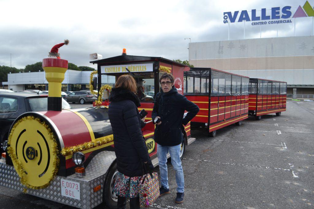 Mercado Navideño, el Tren de Navidad, atracciones infantiles, actuaciones y espectáculos en Collado Villalba