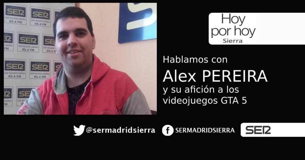 HOY POR HOY. Hablamos con Alex Pereira, que ha llevado a la policía local villalbina al GTA 5