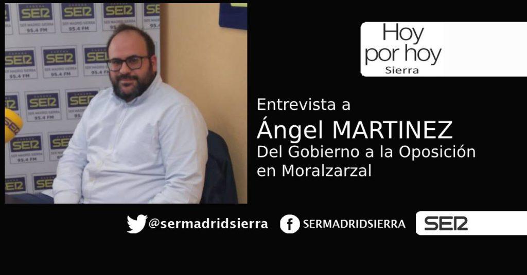 HOY POR HOY. Charlamos con Angel Martinez (PSOE Moralzarzal)