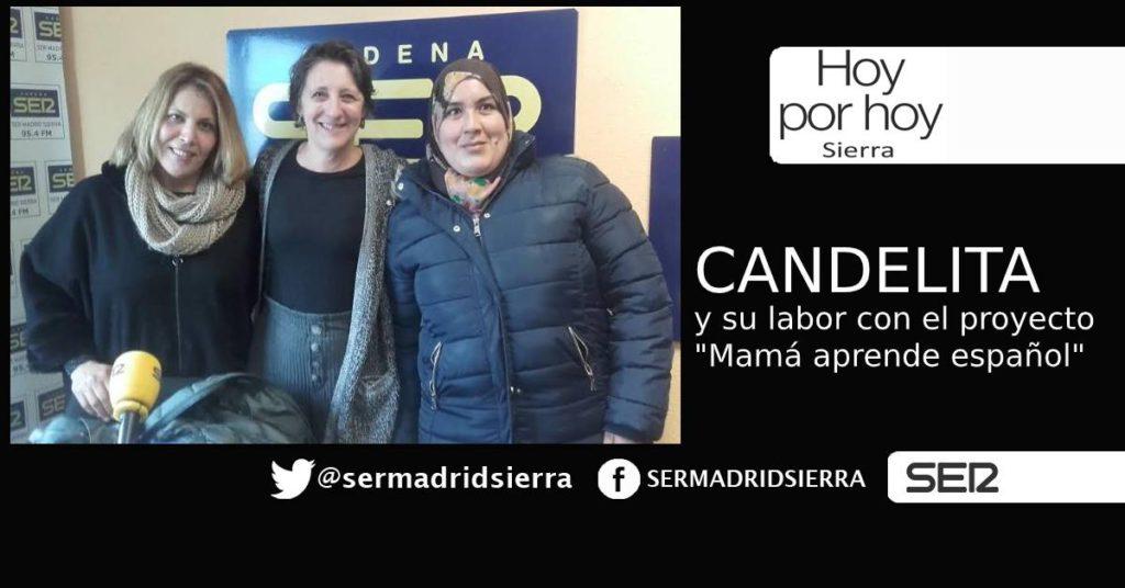 HOY POR HOY. La Asociación CANDELITA y su proyecto «Mamá aprende español»