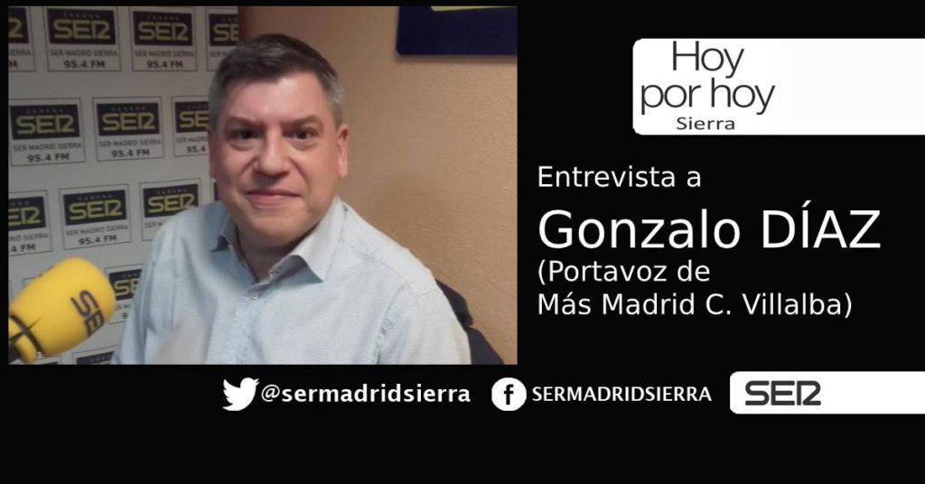 HOY POR HOY. Entrevista a Gonzalo Díaz (Más Madrid)