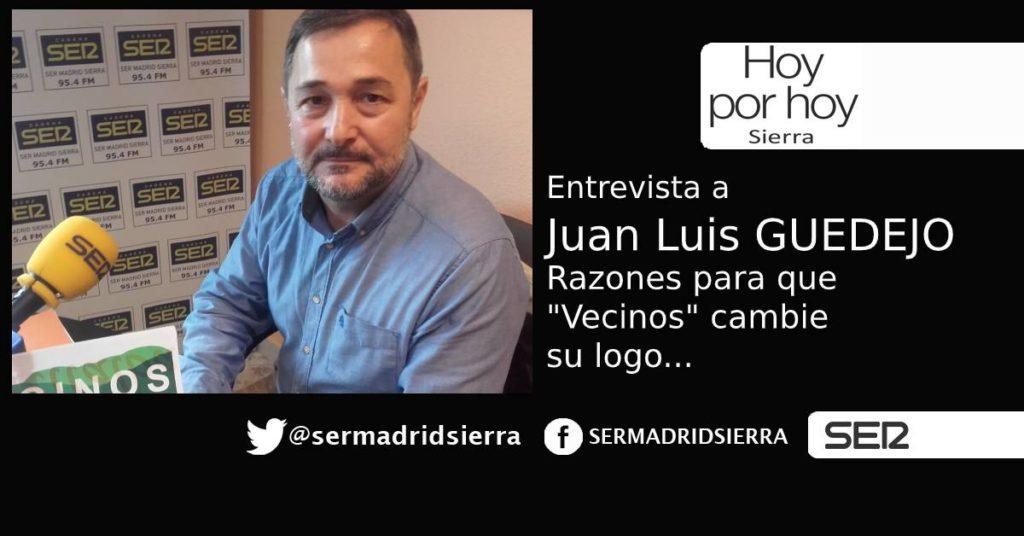 HOY POR HOY. Entrevista a Juan Luis Guedejo, ex-presidente de Vecinos por C. Villalba