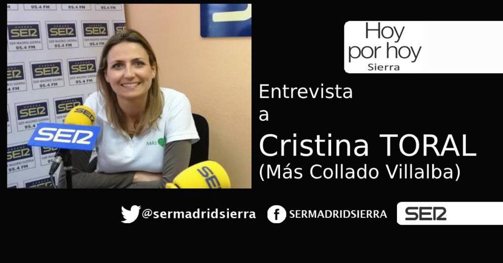 HOY POR HOY. Entrevista a Cristina Toral