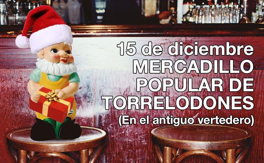 El domingo 15 de diciembre Torrelodones celebra el Mercadillo Popular Navideño