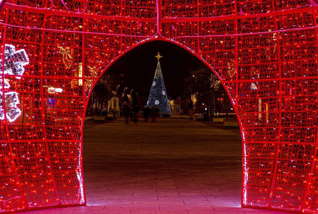 La calle Real se convierte en el epicentro de la programación de la Navidad de Las Rozas