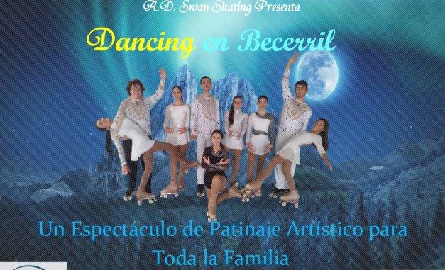 Espectáculo de patinaje artístico en Becerril de la Sierra