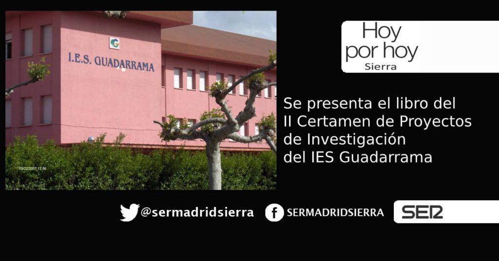 HOY POR HOY. Los grandes proyectos del I.E.S. Guadarrama