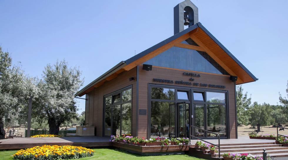 Mañana jueves será derribada la capilla de Prado Nuevo en El Escorial