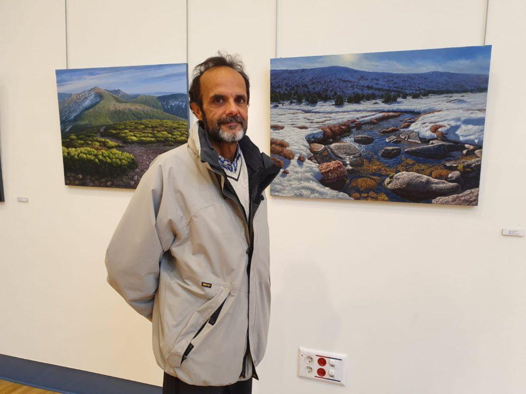 MÁS DE UNO SIERRA – Nueva exposición del pintor Bernardo Lara en Collado Villalba