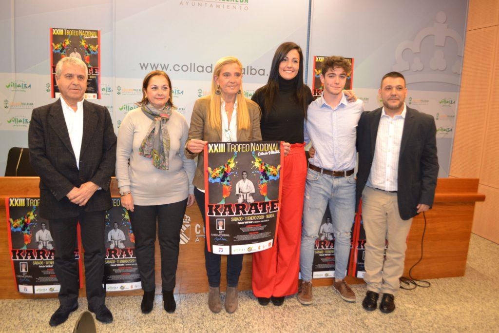 Este sábado, XXIII Trofeo Internacional de Kárate, Memorial Ángel Sáez en Collado Villalba