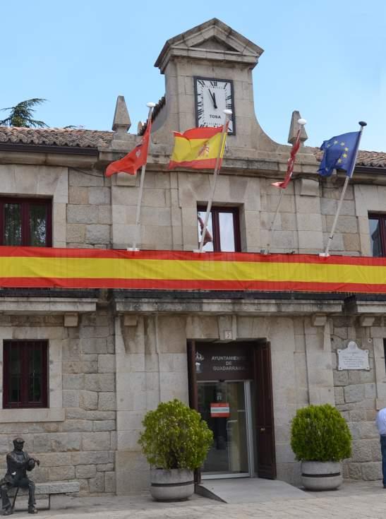 Guadarrama aprueba en pleno la propuesta de Alcaldía para la celebración de una Jura de Bandera Civil