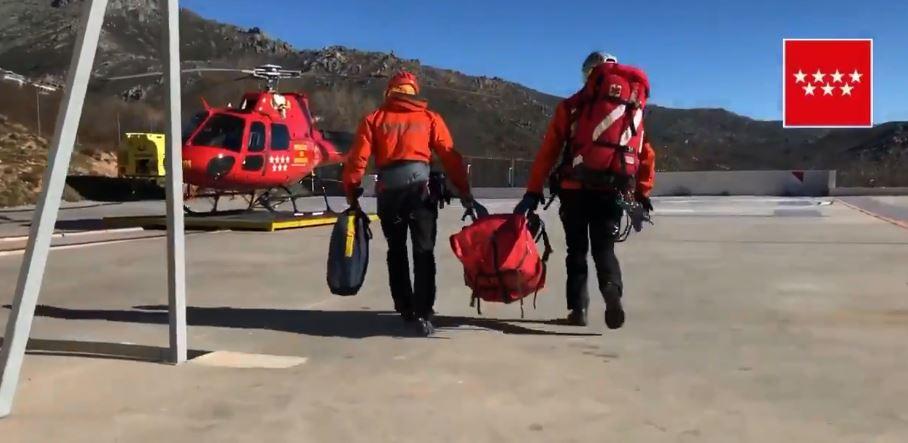 Muere un montañero en Peñalara al precipitarse por una ladera de unos 300 metros