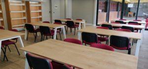 El Polideportivo Zaburdón cuenta con una nueva Sala de Estudio de lunes a viernes por la tarde