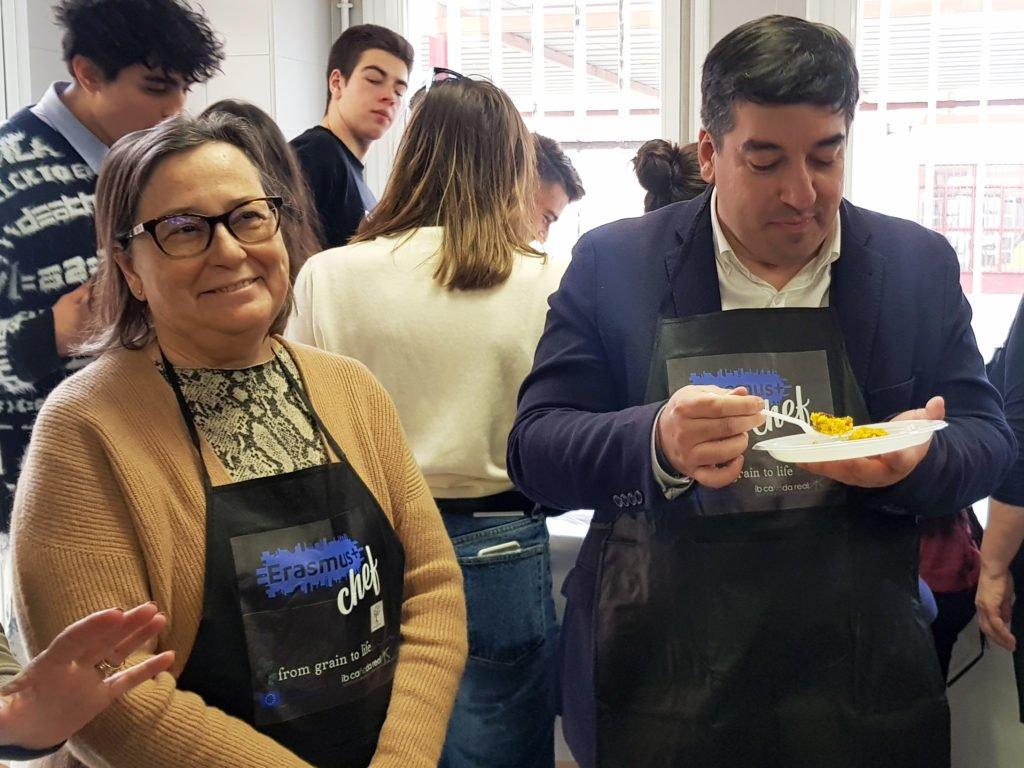 «Erasmus Chef». La cocina tambien llega a las aulas en Galapagar