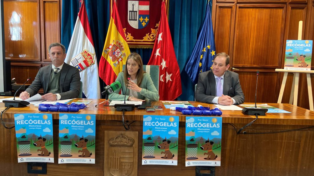 San Lorenzo de El Escorial pone en marcha una Campaña de concienciación para la recogida de excrementos caninos