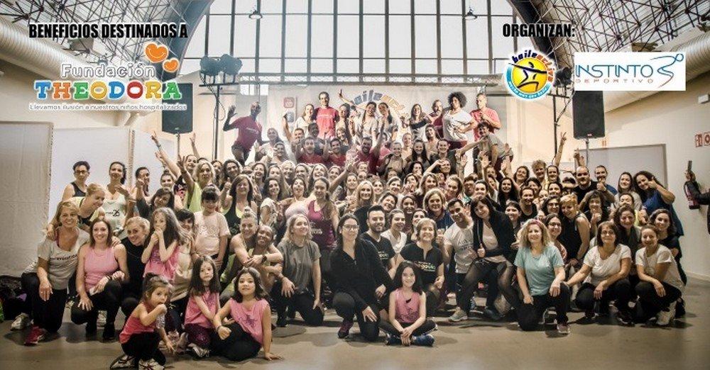Exhibición de baile y gimnasia rítmica en la V Masterclass Quematurrón de Moralzarzal