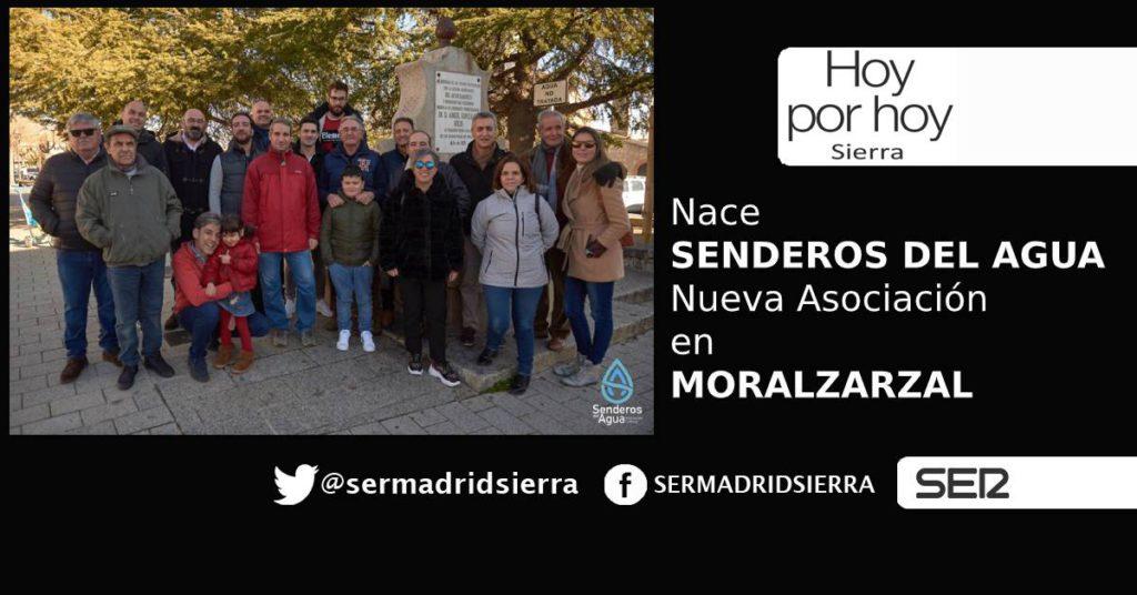 HOY POR HOY. Nace «Senderos del Agua» en Moralzarzal
