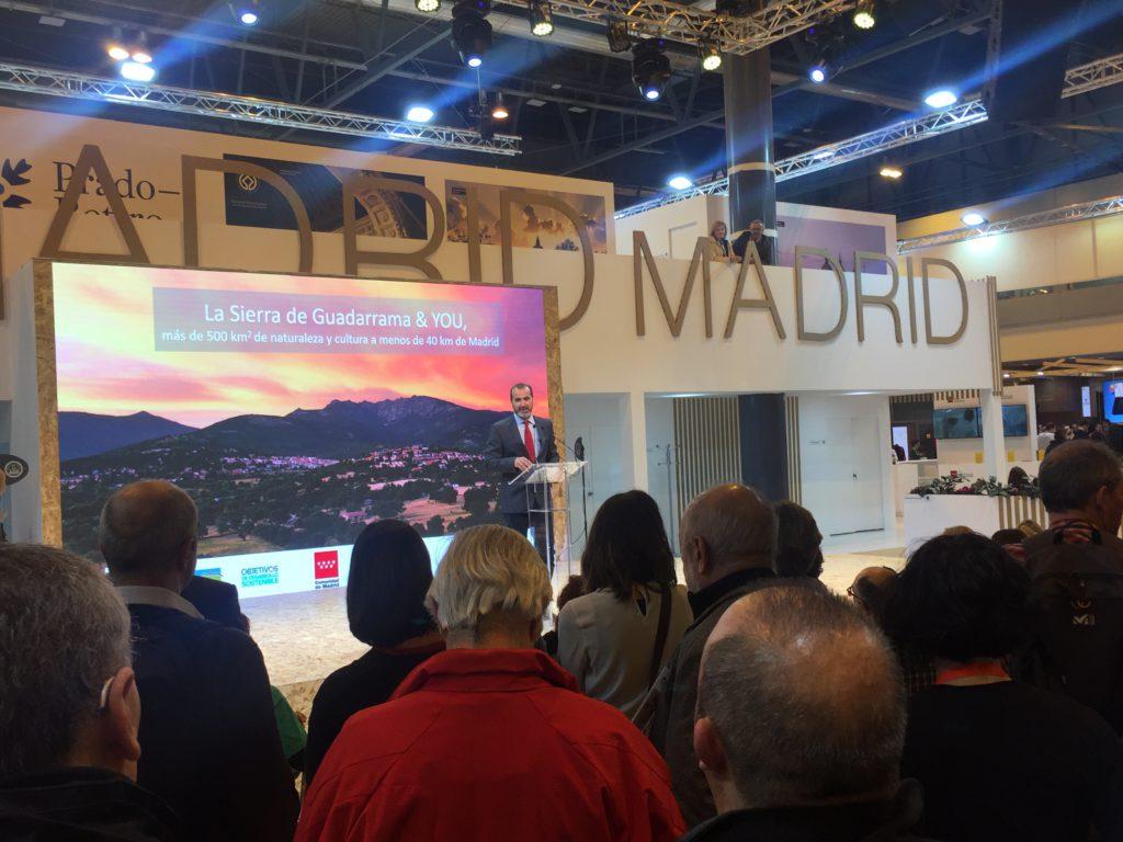 Del 22 al 26 de enero, la Sierra de Guadarrama en Fitur 2020