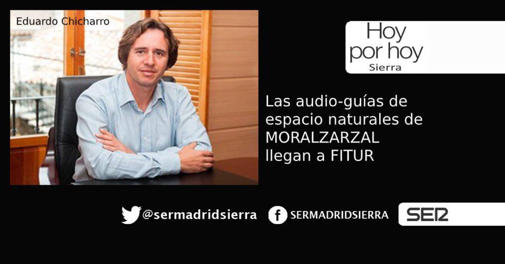 HOY POR HOY. Moralzarzal presenta en FITUR sus audio guías
