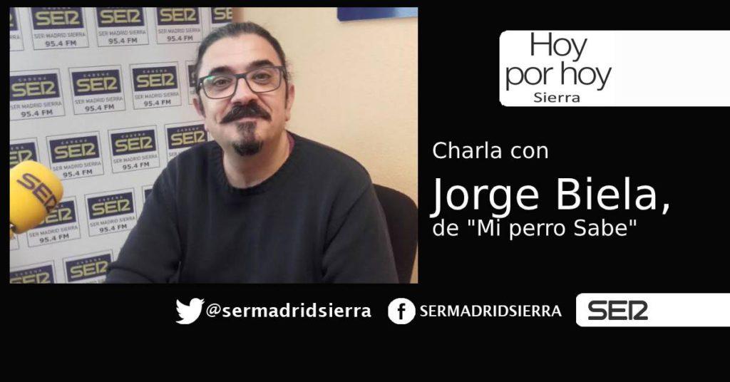 HOY POR HOY. Recibimos a Jorge Biela,de «Mi Perro Sabe»