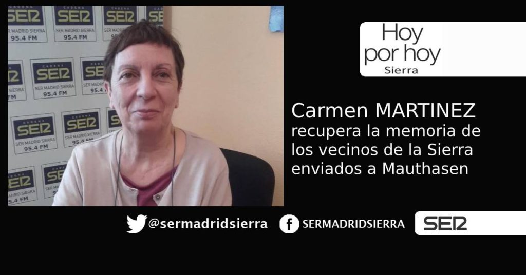 HOY POR HOY. Carmen Martinez: Homenaje a la Memoria en Robledo de Chavela