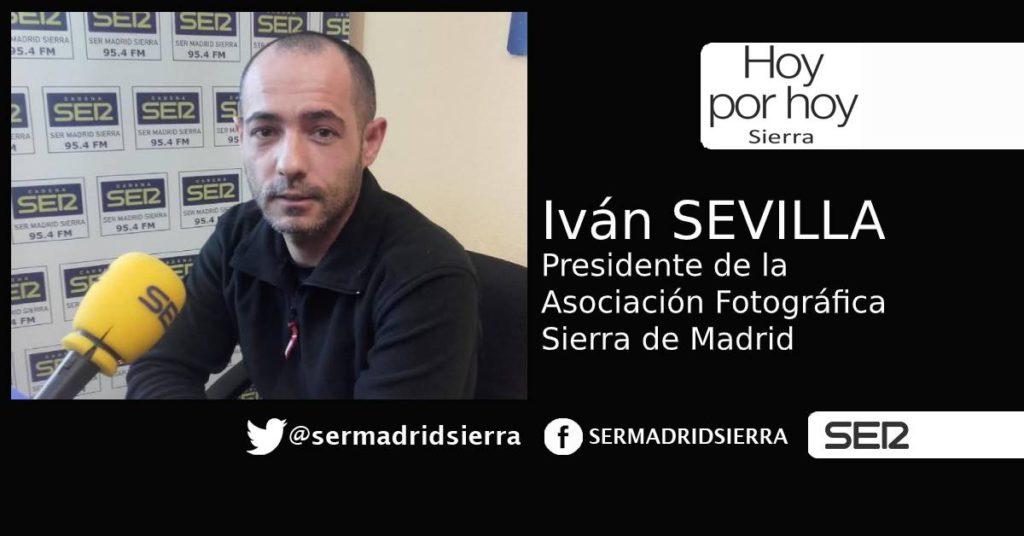 HOY POR HOY. Hablamos con Iván Sevilla, presidente de la Asociación Fotográfica Sierra de Madrid