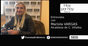 HOY POR HOY. Entrevista a Mariola Vargas, alcaldesa de Collado Villalba
