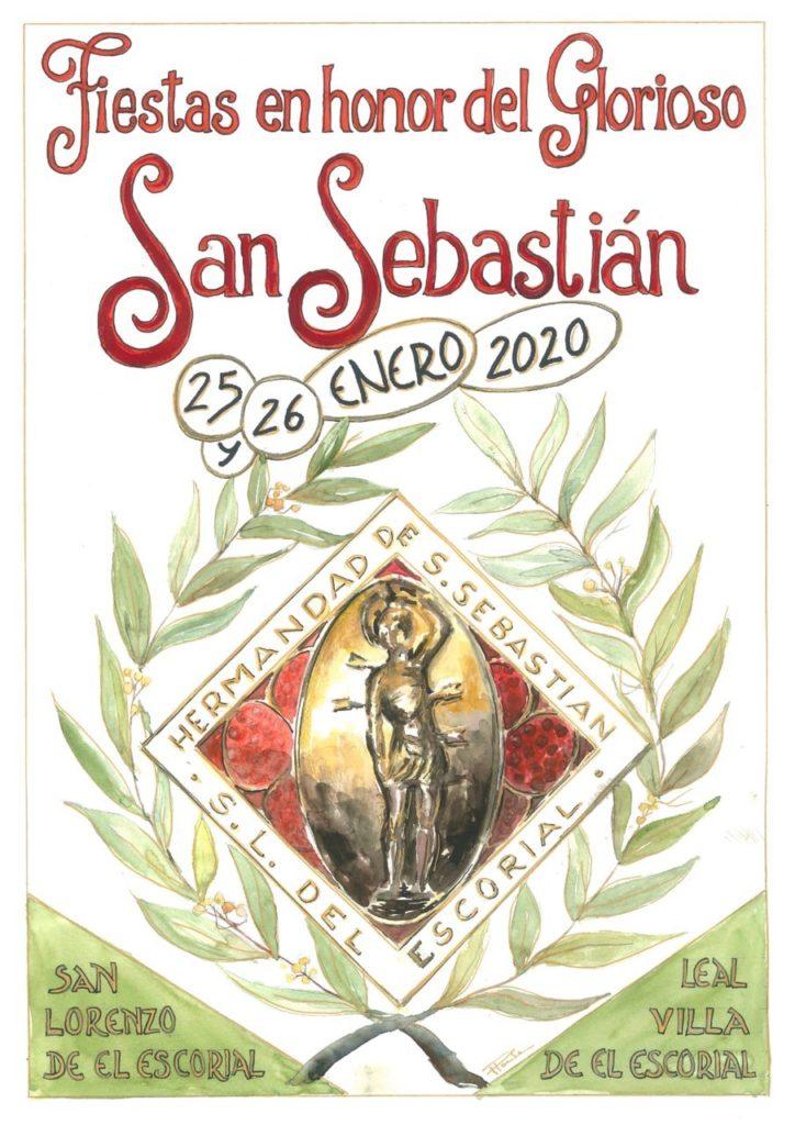 Comienzan las fiestas en honor a San Sebastián en El Escorial