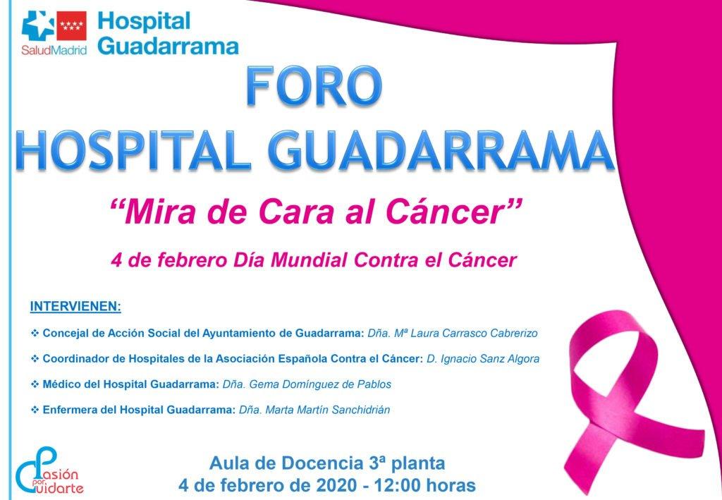 El Hospital Guadarrama celebra mañana una jornada de prevención contra el cáncer