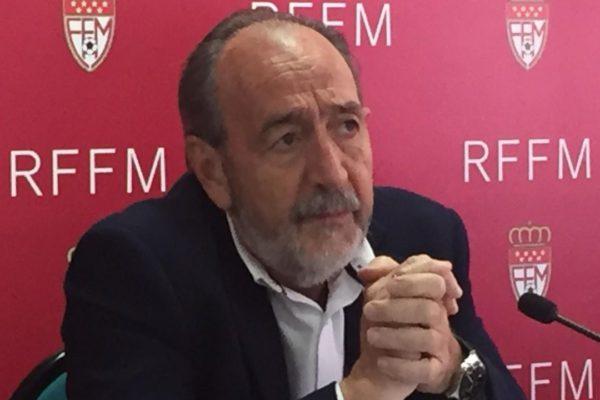 FRANCISCO DIEZ, PRESIDENTE DE LA RFFM, CONFIRMA LOS PROBLEMAS ECONOMICOS DEL AT. VILLALBA