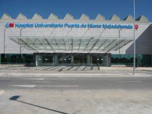 El hospital Puerta de Hierro permite que Porsche almacene coches en su parking sin autorización