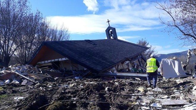 Los «virginianos» no se rinden: «Construiremos la capilla definitiva que nos ha pedido la Virgen»