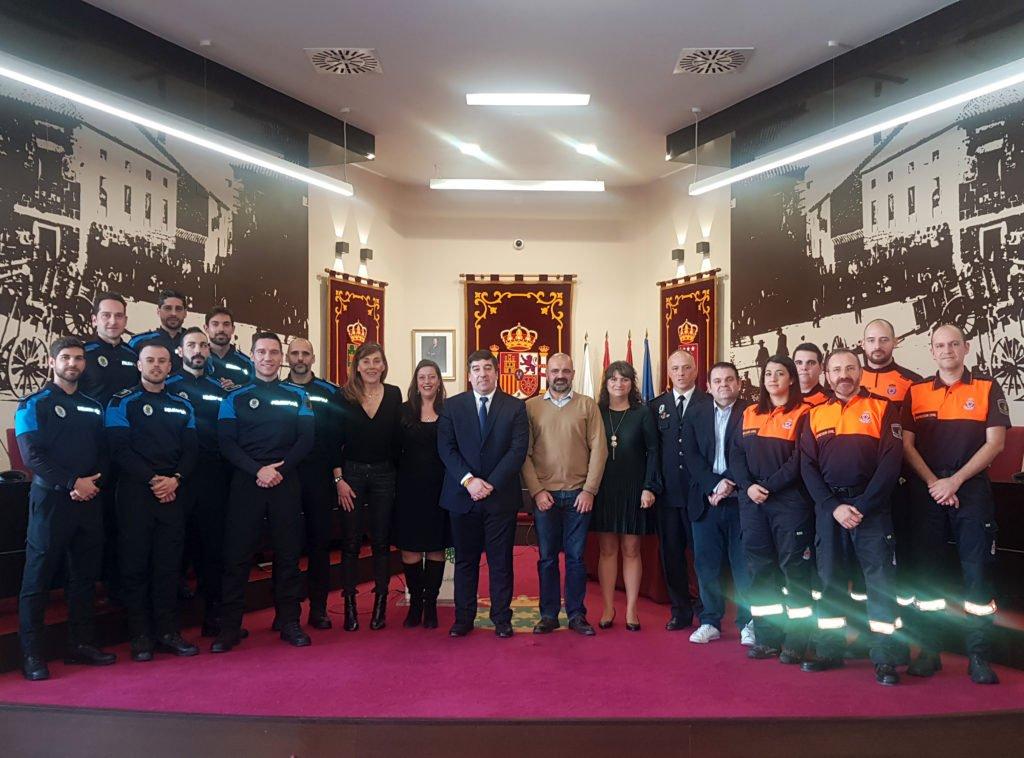 La policía local de Galapagar incorpora 8 nuevos agentes y 4 voluntarios de protección civil