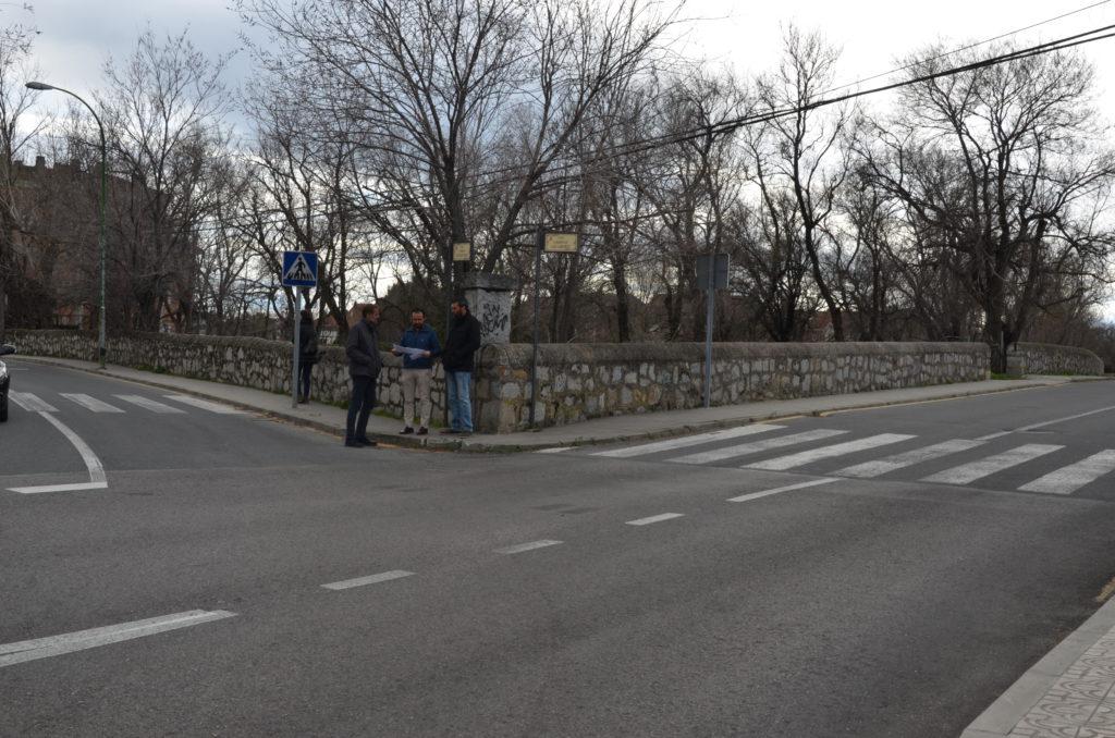 Reordenación del tráfico en el Polígono «La Mata» de Guadarrama