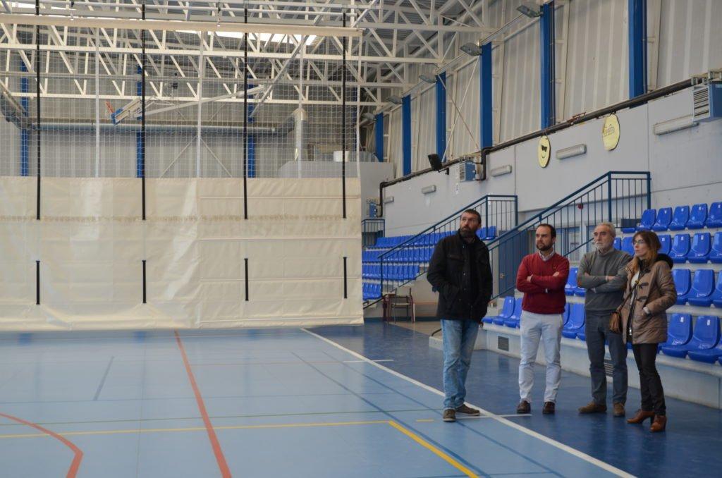 Reparada la cubierta del Polideportivo Villa de Guadarrama