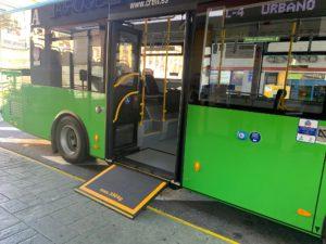 San Lorenzo estrena nuevo autobús más accesible y con mayor capacidad