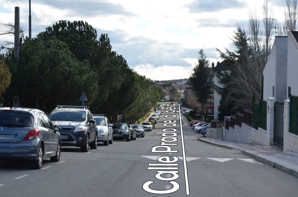Guadarrama pone en marcha el Plan de Ordenacióln del Tráfico en la zona de Prado San Juan